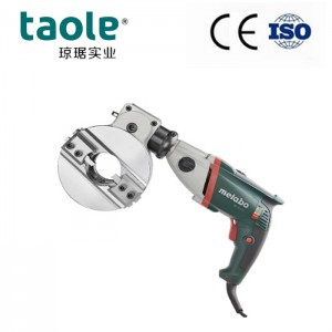 SCB-114 self centering pipe cutting and beveling machine