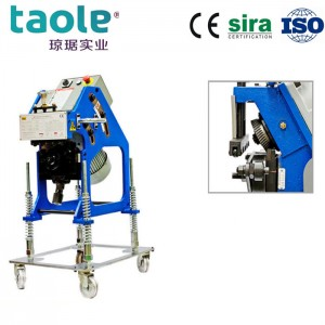GBM-12D Metal plate beveling machine