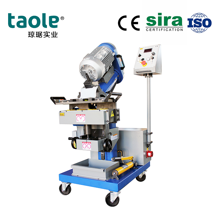 GMMA-60L auto feeding beveling machine 0-90 degree Featured Image