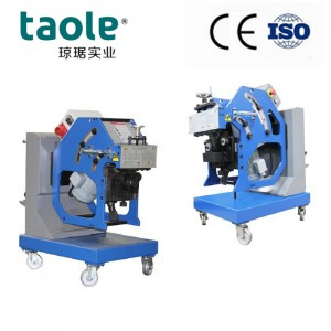 GBM-12D-R V&X type joint plate beveling machine