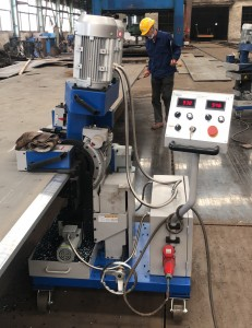 GMMA-100L heavy duty plate beveling machine