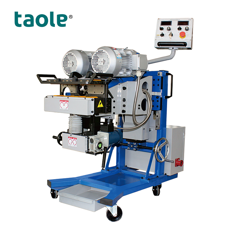 GMMA-80R Turnable steel pate beveling machine for top and bottom bevel Featured Image