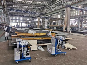 GMMA-80A,80R Steel beveling machine for Shipyard/Dockyard plates