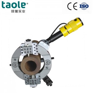 OCE-230 od-mounted electric pipe cutting and beveling machine