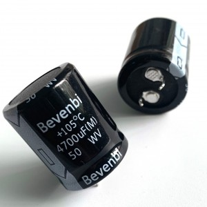 Snap In and Lug Aluminum Electrolytic Capacitors