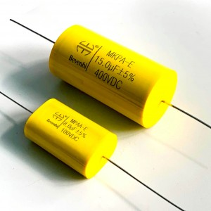ODM Supplier China High Voltage High Current Metallized Polypropylene Film Capacitor Axial Type Cbb91