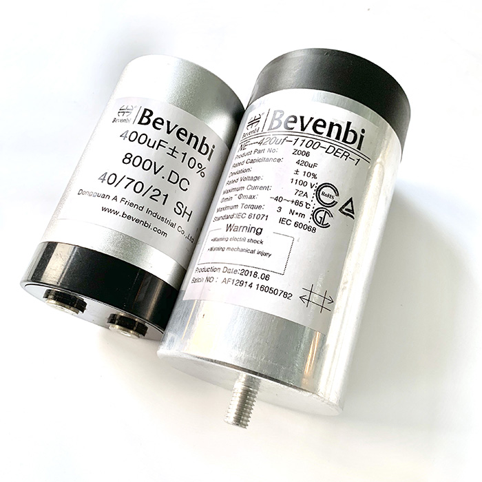 Metallized film filter&storage capacitor