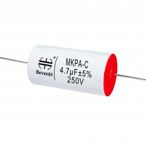 4.7uF 250V Axial MKP Audio Metallized Film Capacitor