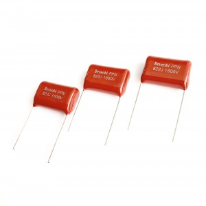 Newly Arrival China High Voltage High Current Metallized Polypropylene Film Capacitor Axial Type