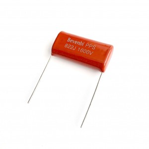 CBB81 (PPS)  Metallized Polypropylene Film capacitors