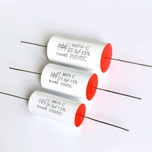 2019 High quality Axial Pe Film Capacitors -