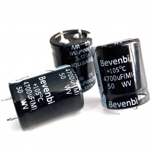 Snap In and ndiwele Aluminium Electrolytic Capacitors