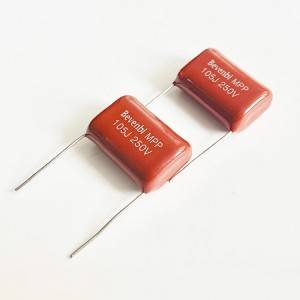 Bevenbi Best quality film capacitor CBB21 250v 400v metallized polypropylene film capacitor
