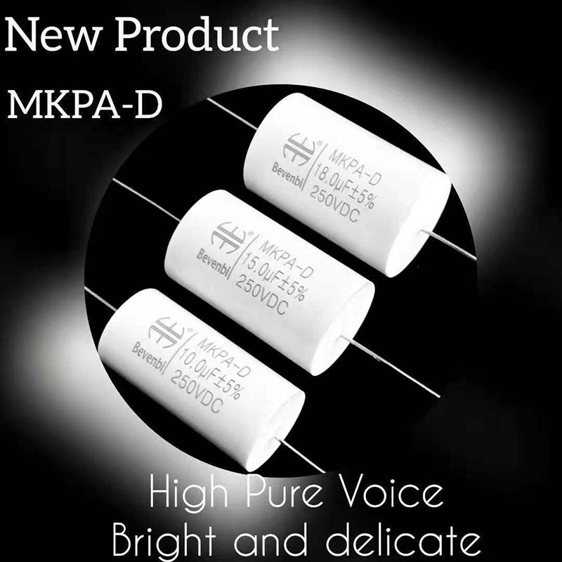 2019 China New Design 10uf 250vdc Axial Capacitor – MKPA-D  MKTA-D – A Friend