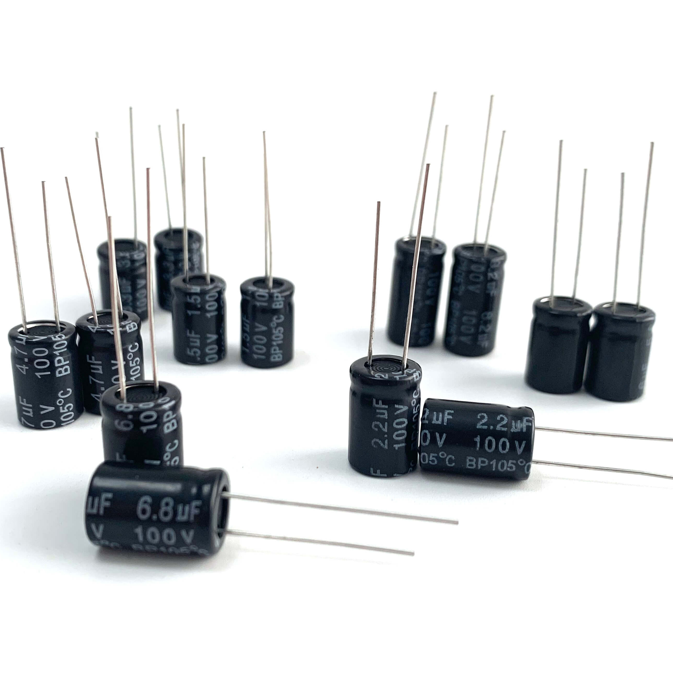 Chinese Professional 100uf 100v Aluminum Electrolytic Capacitor -