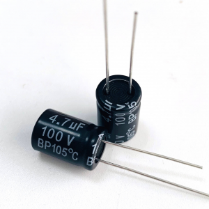OEM manufacturer Low Impedance Electrolytic Capacitor 100v -