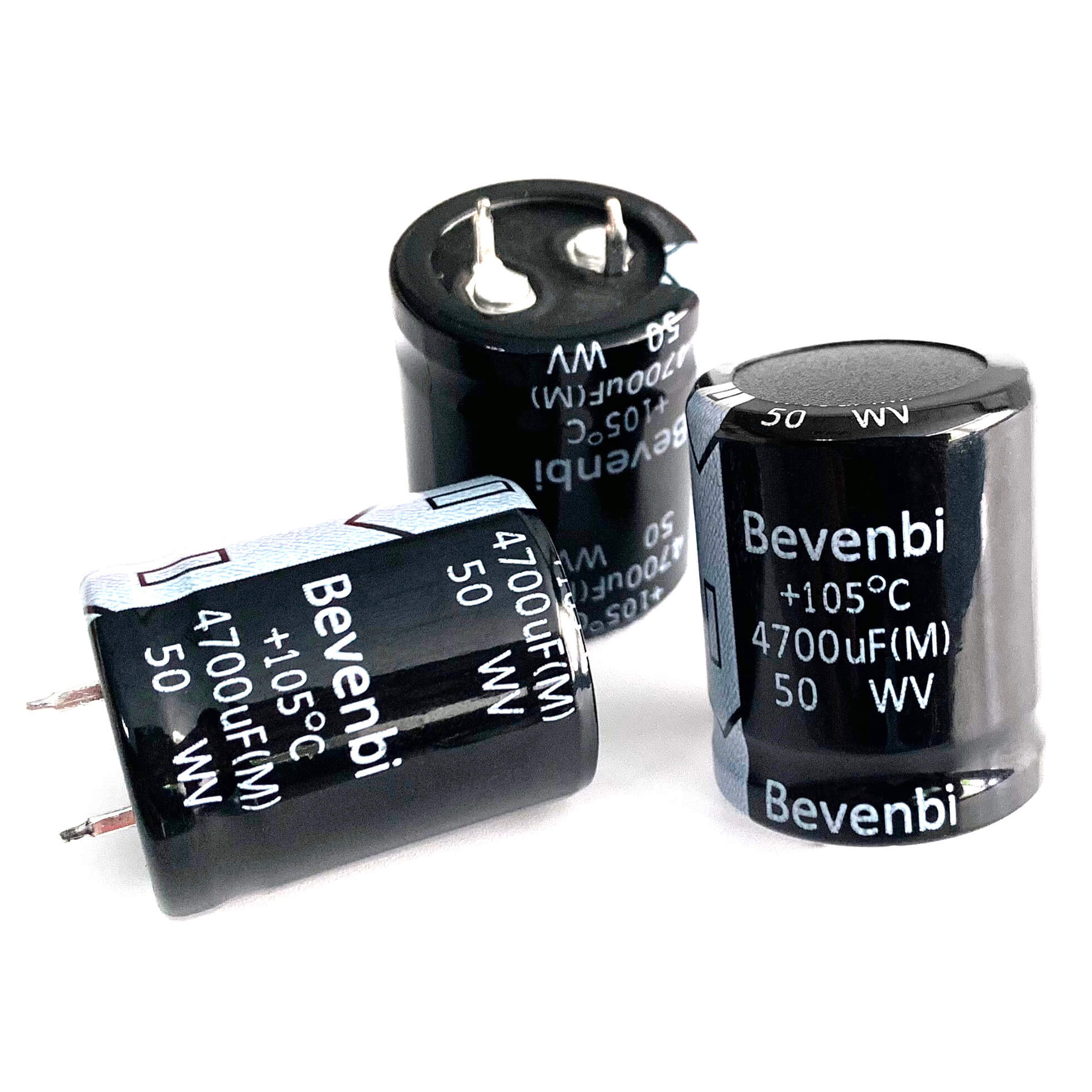 Snap In 4700uF 63 Volt Aluminum Electrolytic Capacitors 5