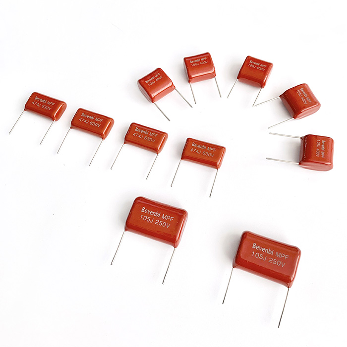 Radiale coated PE & PP capacitor