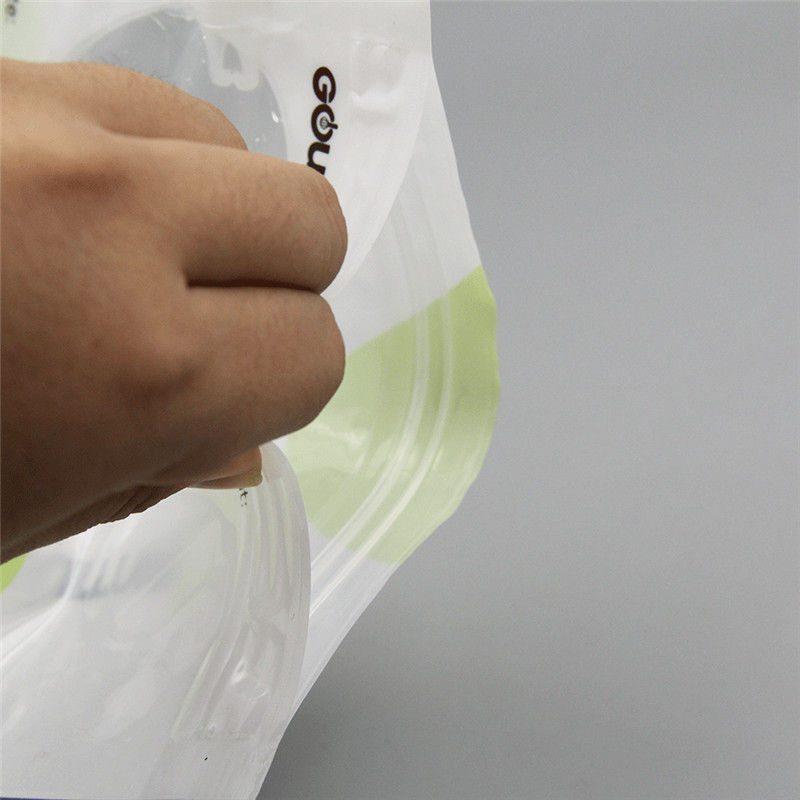 Short Lead Time for Best Refillable Baby Food Pouches - FDA grade plastic baby food spout bag – Kazuo Beyin