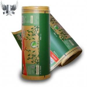 2021 Good Quality Plastic Film Roll Packaging -