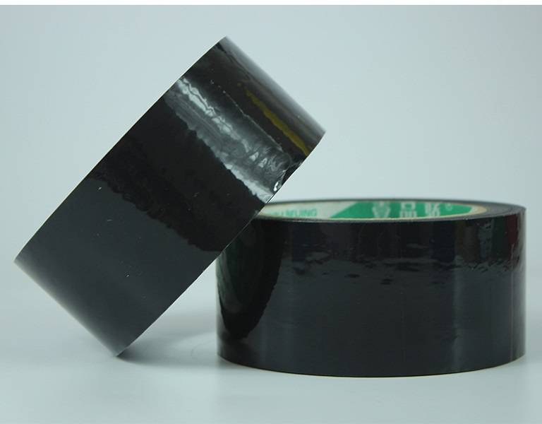 Professional China White Colored Opp Packing Tape – Colored bopp tape – Black color – Black Spider