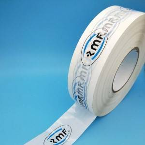 GOOD Two color Printed tape – white base tape – 400m length