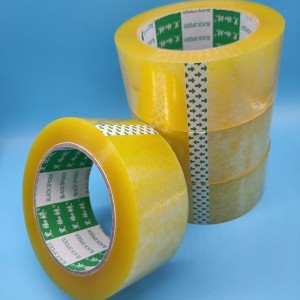 Yellowish Packing Tape Bopp Custom Adhesive Tape