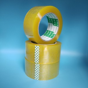Yellow Packing Tape Bopp Custom Adhesive Tape