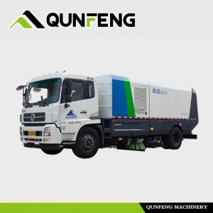 Multifunctional Sweeping and Washing Truck