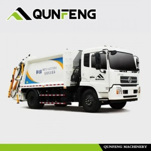 Garbage Truck with Detachable Carriage /Refuse Collector Truck