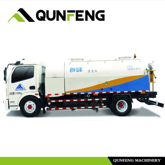 High Pressure Road Cleaning Truck