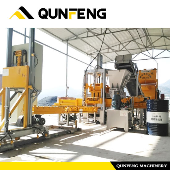 OEM/ODM Manufacturer Paving Block Making Machine -