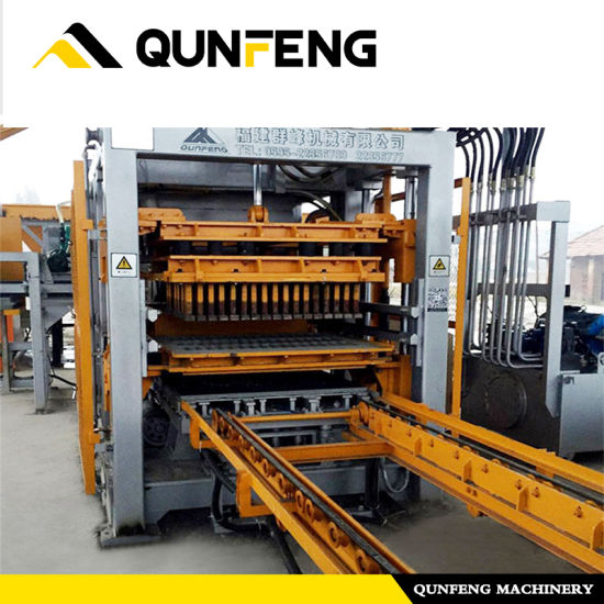 Professional China Concrete Blocks Making Machines -