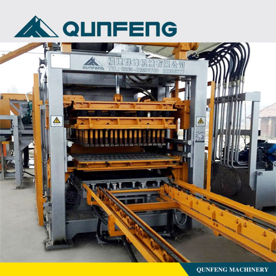 Manufacturer for Hydraulic Cement Brick Block Making Machine -