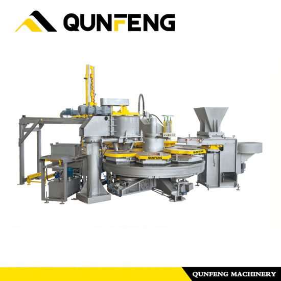 Qunfeng Qfy6-60 Terrazzo Tile Machine/Brick Machine