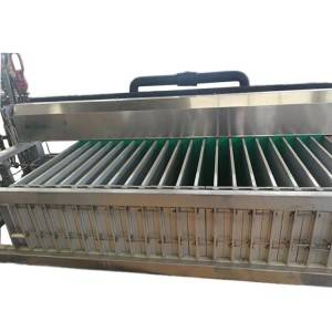 Contact vertical freezer