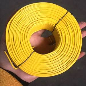 galvanized wire PVC coated tie wire