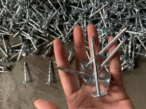 High grade Q195/Q235 material  Galvanized Twisted Shank Corrugated Nails