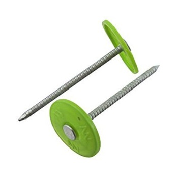 New Fashion Design for Green Painted Steel Strapping - Q195 Material Plastic Cap Nail 2.8mm Wire Dia – Bluekin