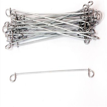 Short Lead Time for Wire Cable Fixing Nail - Zinc Coated Double Loop Tie Wire For Baling For Steel Bar – Bluekin