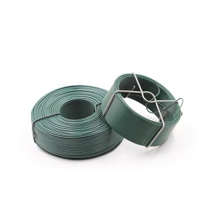 30m Green Soft PVC Coated Garden Wire