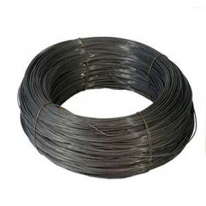 Factory Soft 9 12 14 16 Isikali Black Wire Black Tie Wire Black Annealed Wire For Ukwakhiwa