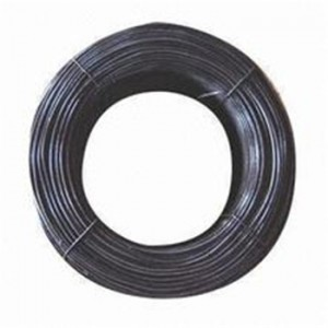 Fixed Competitive Price Razor Barbed Iron Wire - Factory Soft 9 12 14 16 Gauge Black Wire Black Tie Wire Black Annealed Wire For Construction – Bluekin