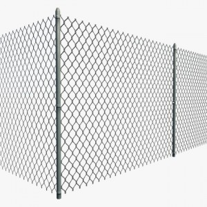 Sale Hot PVC lattice Canali Link Fence System