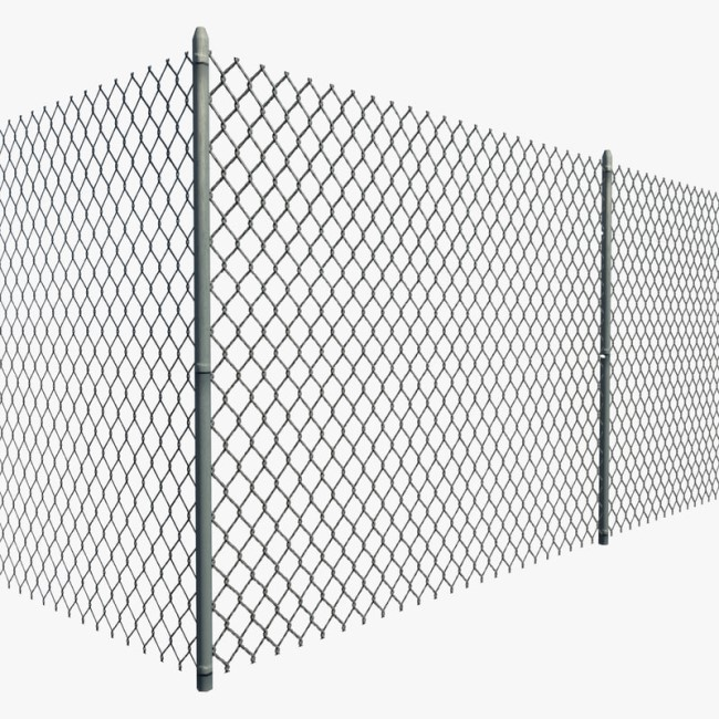 100% Original Factory Double Loop Wire - Hot Sale Pvc Coating Chain Link Fence System – Bluekin