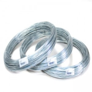 Factory making Tomato Growing Spiral Iron Wire - Best Selling Galvanized Wire For Vineyards – Bluekin