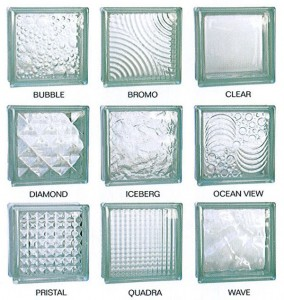 190*190*80 hot sale glass block