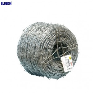 Low Price Galvanized Barbed Wire Price Per Roll