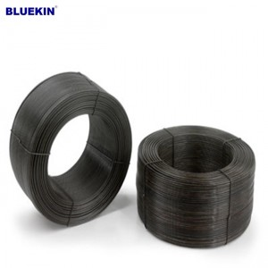 types of binding wire 16 gauge black annealed tie wire