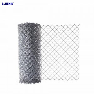 Used Galvanized Cheap Fence Chain Link Fence For Sale